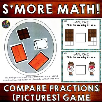 Comparing Fractions (Pictures Version)