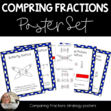 Comparing Fractions Poster Set