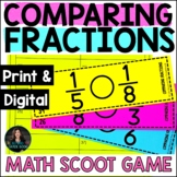 Comparing Fractions Practice - 5th Grade Fractions Workshe