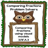 Greater Than Less Than Comparing Fractions Worksheets 3rd Grade Fractions 3.NF.3