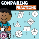 Comparing Fractions {Same Denominator}