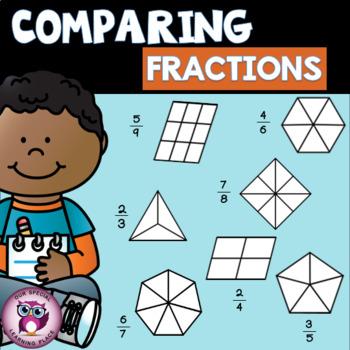 Comparing Fractions {Same Denominator}