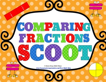 Comparing Fractions Scoot