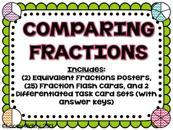 Comparing Fractions Set