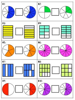 Comparing Fractions Small Group Lesson #2