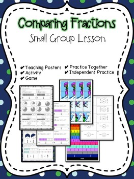 Comparing Fractions Small Group Lesson