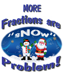 Comparing Fractions Snowman Unit