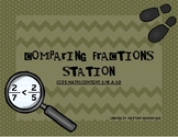 Comparing Fractions Station