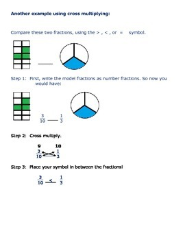 Comparing Fractions Study Guide