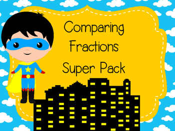 Comparing Fractions Super Pack