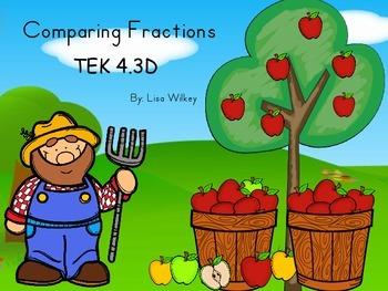 Comparing Fractions - TEK 4.3D