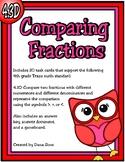 Comparing Fractions (TEKS 4.3D) STAAR Practice