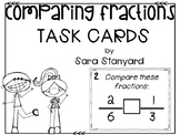 Comparing Fractions Task Cards , and =
