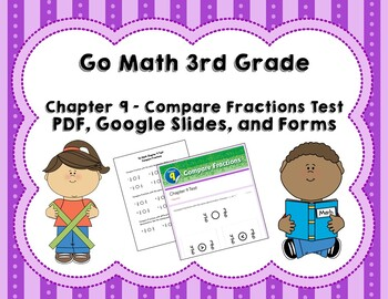 comparing fractions test go math 3rd grade chapter 9 by joanna riley. Black Bedroom Furniture Sets. Home Design Ideas