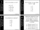 Comparing Fractions Test Prep Task Cards - Multiple Choice