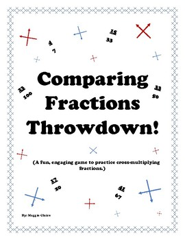 Comparing Fractions Throwdown!