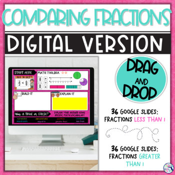 Comparing Fractions Error Analysis Task Cards