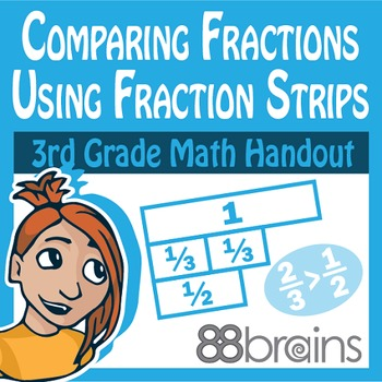 Comparing Fractions pgs. 19 - 20 (Common Core)