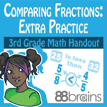Comparing Fractions pgs. 23 - 24 (Common Core)