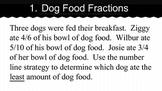 Comparing Fractions - Unlike Denominators