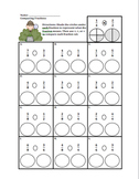 Comparing Fractions Using Benchmark Fractions Pack (Tiered)