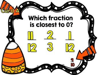 Comparing Fractions Using Benchmarks of 0, 1/2, and 1-A Scavenger Hunt