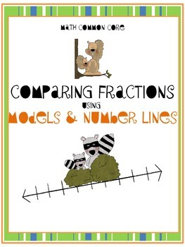Comparing Fractions Using Models and Number Lines