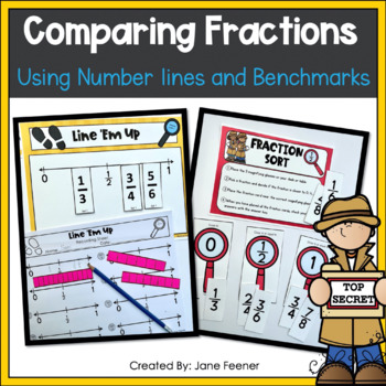 Comparing Fractions Using Number Lines and Benchmarks