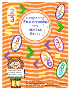 Comparing Fractions Using Number Sense 4.NF.A.2