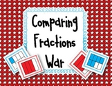 Comparing Fractions WAR Game {3.NF.3d}
