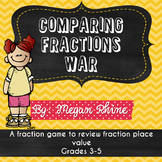 Comparing Fractions War