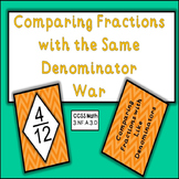 Comparing Fractions With the Same Denominators - Game of War