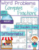 Equivalent and Comparing Fractions Word Problem Worksheets