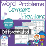 Equivalent Fractions and Comparing Fractions Word Problem