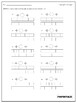 Comparing Fractions Worksheets - With Fraction Bars and Number Lines!