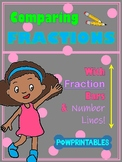 Comparing Fractions Worksheets - With Fraction Bars and Nu