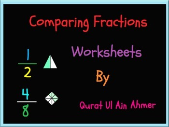 Comparing Fractions Worksheets: