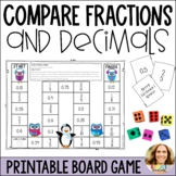 Comparing Fractions and Decimals Game