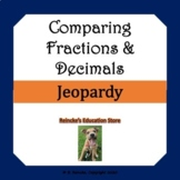 Comparing Fractions and Decimals Jeopardy