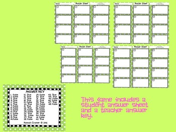 Comparing Fractions and Decimals (True or False Game)