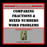 Comparing Fractions and Mixed Numbers Word Problems