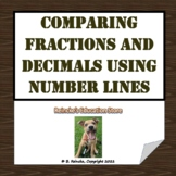 Comparing Fractions by Using Decimals and a Number Line