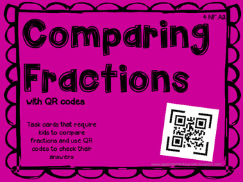 Comparing Fractions w/ QR codes