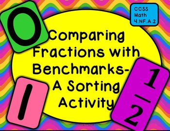 Comparing Fractions with Benchmarks - A Sorting Activity