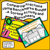 Comparing Fractions with Benchmarks Bundle - 2 Activities