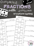 Comparing Fractions with Dominoes Activity