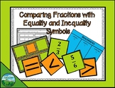 Comparing Fractions with Inequality Symbols