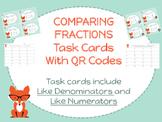 Comparing Fractions with Like Numerators & Denominators Ta