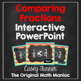 Comparing Fractions with Like & Unlike Denominators Interactive PowerPoint