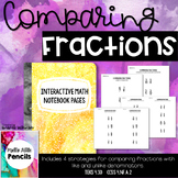 Comparing Fractions with Like & Unlike Denominators - Note